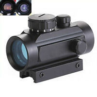 1xHunting Red Green Dot Rifle Scope Telescope Optical Sight 11/20mm Tackl de hot