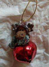Boyd's Bears & Friends - Moose Jingle Bell Ornament