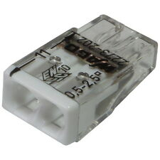 10 WAGO 2273-202 Dosenklemme 450V 2-polig COMPACT Verbindungsdosenklemme 855533