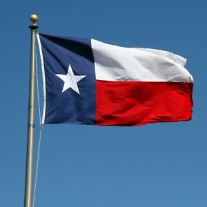 Texas State Flag Made in USA 5x8 PolyExtra High Quality