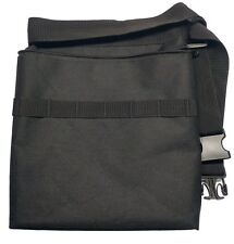 Epic Gear Black Metal Detecting Diggers Pouch with Interior pocket - Adjustable