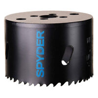 Spyder 6.625 Inch Bi Metal Steel Deep Cut Hole Saw Cutter for Wood and Plastics