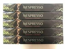 NESPRESSO EXCLUSIVE REVIVING ORIGINS ESPERANZA de COLOMBIA 50 Capsules 5 Sleeves