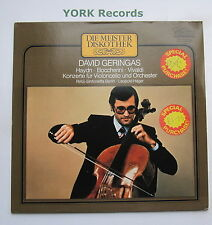 66 513 3 - HAYDN / BOCCHERINI Cello Concertos DAVID GERINGAS - Ex Con LP Record