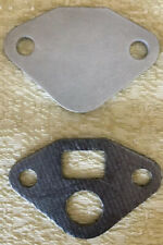 AMC 6 CYL V8 EGR VALVE ALUMINUM BLOCK OFF PLATE With GASKET MADE IN USA