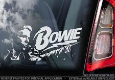 David Bowie Autographed Rock Music Memorabilia