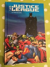 JUSTICE LEAGUE LA TOUR DE BABEL URBAN COMICS DVD ET BLURAY INCLUS