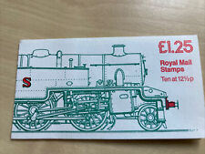 Great Britain Stamp Booklet £1.25 Tank Engine Cylinder B1 Lm Fk6a