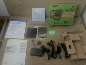 Sony Clie PEG-TJ27 Handheld with Stylus Charger Sealed CD-Rom Disc New open box