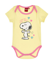 Baby Boys Girls Unisex Various Character Vest Body Suit Romper Short Sleeve Snoopy #1 6 Months
