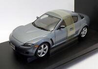Autoart 1/18 Scale Model Car 75923 - Mazda RX8 - Titanium Gray