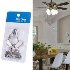 Light Bulb & Ceiling FanCeiling Light Pull ChainSilver (2 Pack)