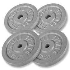 Gorilla Sports 2x 10KG 2x5KG Cast Iron Weight Plates