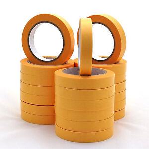 8 x Goldband - Klebeband - 50 m (Länge) x 25 mm (Breite) x 0,09 mm (Stärke)