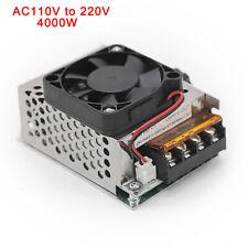 Scr Motor Speed Controller Volt Regulator Dimmer Thermostat 4000w Ac 110 220v