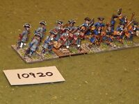 25mm marlburian / french - infantry 16 figures - inf (10920)