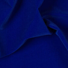 "Royal Blue Velvet Flocking Drapery Upholstery Fabric - Sold By The Yard - 60"""
