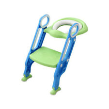 Toddler Child Toilet Chair Kids Potty Training Seat with Step Stool Ladder