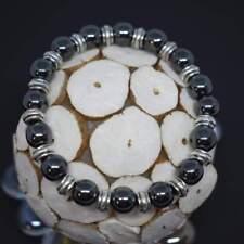 Willpower Beaded Bracelet Handmade With Black Hematite Beads