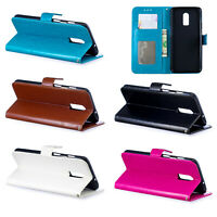 Flip Stand PU Leather Case Wallet Card Pocket Cover Phone For OnePlus 5T 6T
