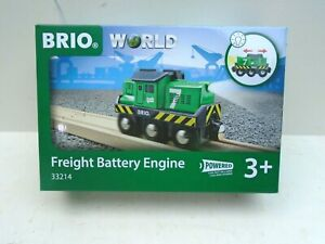 BRIO #33214 Freight Battery Engine