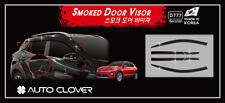 Autoclover Smoke Tinted Wind Deflectors 6p for The All-New Kia Stonic 2017 2018