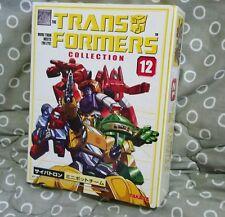Transformers G1 TFC #12 Minibots Reissue Takara MISB New Warpath Cosmos Book