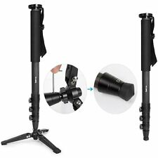 "Koolertron 70"" Carbon Fiber DSLR Camera Monopod Tripod & Folding Base For Canon"