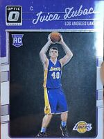 2016 Ivica Zubac Optic Rookie Card 176 Los Angeles Lakers RC