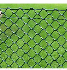 Hexagonal Fencing - Plastic Coated Green 25m x 90cm