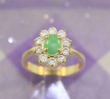 Yellow Gold Natural Stone Fashion Jewellery
