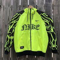 Nike Sportswear Men's XL Tattoo Hooded Woven Windrunner Jacket CJ4968 New