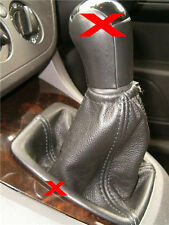 LEATHER GEAR STICK GAITER GAITOR COVER FITS FORD FOCUS C MAX