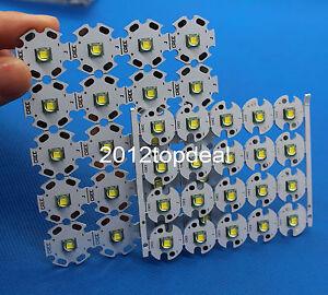 10W Cree Single-Die XM-L LED T6 White 1040Lm@3000mA led chip+16mm 20mm pcb F DIY