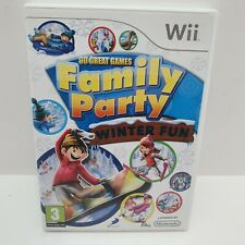 30 Great Games Family Party: Winter Fun (Wii), Good Nintendo Wii, Nintendo Wii V