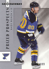 05-06 FLEER HOT PROSPECTS ROOKIE RC #165 ANDY ROACH BLUES *2534