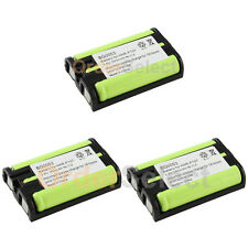 3 NEW Cordless Home Phone Rechargeable Battery for Panasonic HHR-P107 HHRP107