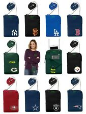 NFL ,MLB,NHL Team Pebble Smart Crossbody Purse /Organizer