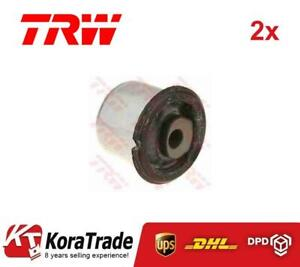 2x TRW JBU640 LOWER CONTROL ARM TRAILING ARM BUSH X2 PCS