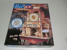 MB Puzz 3D Bavarian Clocktower Uhrturm Turm Neu & OVP