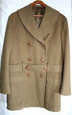 UNITED STATES AIR FORCE USAF WWII WOOL DRESS COAT, FELT PATCH, BELT, MINT