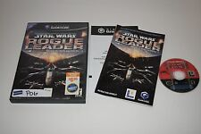 Star Wars Rogue Squadron II Rogue Leader Nintendo GameCube Video Game Complete