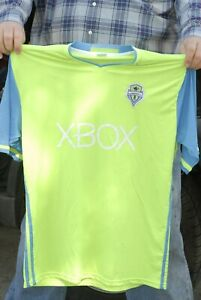 Seattle Sounders FC soccer jersey MLS Stadium give away XL