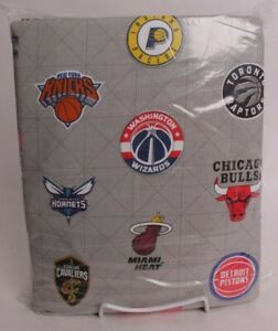 Pottery Barn Teen NBA sheet set, full, East, basketball