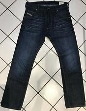 DIESEL Herren Jeans KROOLEY Regular Slim-Carrot 31/32 blau NEU!