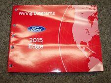 2015 Ford Edge Electrical Wiring Diagram Manual SE SEL Titanium Sport 2.0L 3.5L