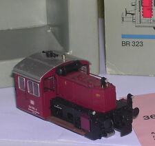Märklin 3680 Diesellok Köf BR 323 530-6 DB rot, Metall, digital OVP