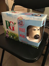 Wallace and Gromit collectable ceramic thermo Beagle dog tea mug PG TIPS