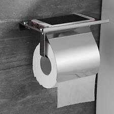 Toilettenpapierhalter Klopapierhalter Ablage Klorollenhalter WC Handyhalter
