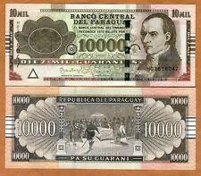 Paraguay, 10,000 (10000) Guaranies 2015, P-New, Serie H, UNC